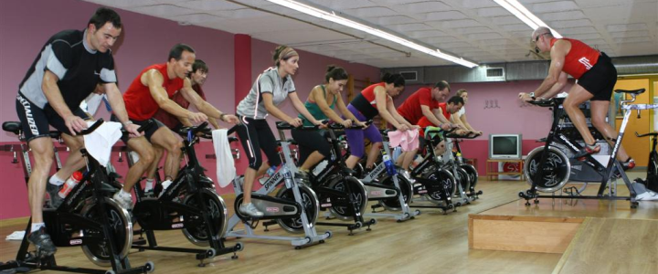Spinning und Indoor Cycling