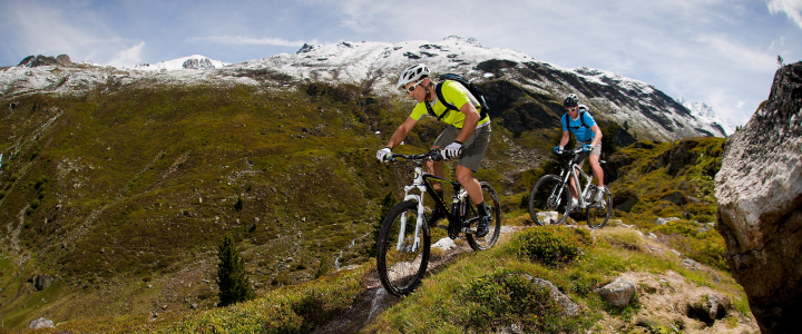 Mountainbike und Mountainbike Training