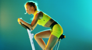 Spinning: leichtes Training